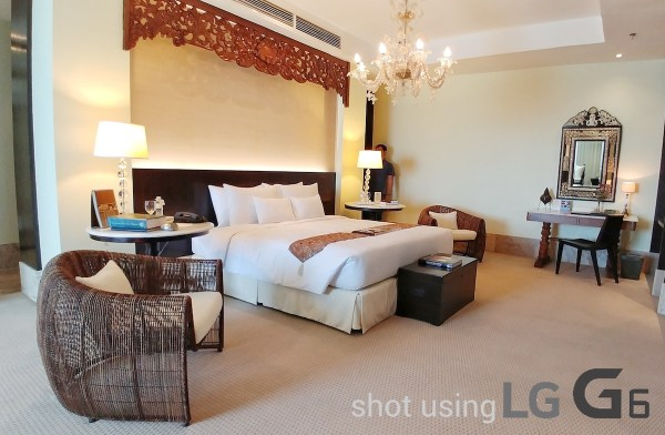 Bedroom at the Presidential Suite