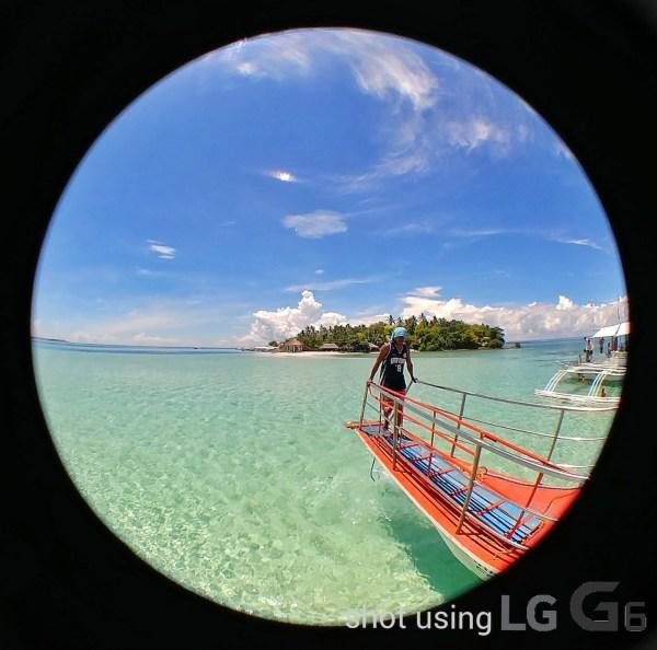 Black Eye Fisheye Lens