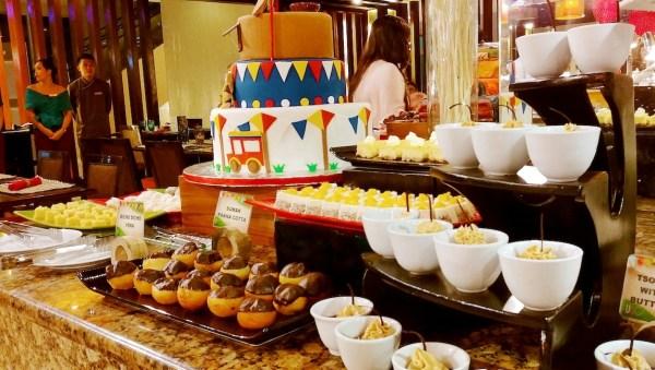 Dessert Section of Uno Restaurant