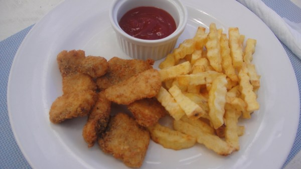 Fish Fingers with Fries