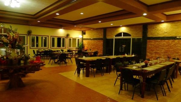 Interiors at Josephia's Restaurant