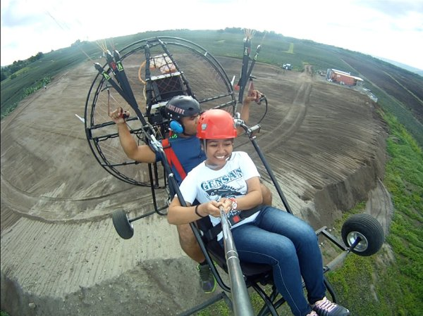 Paramotoring in Polomolok