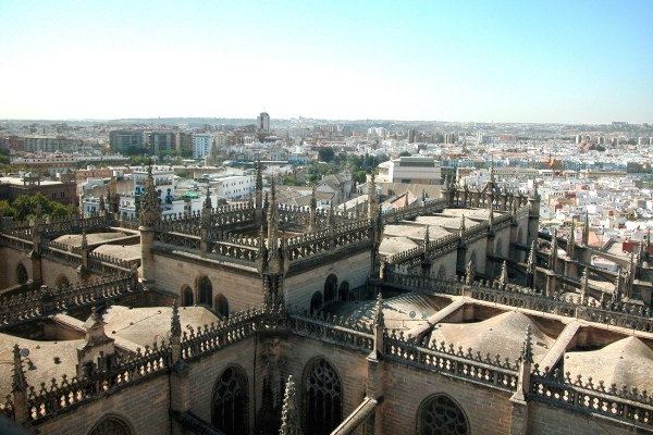 """The rooftop of La Giralda was used for some scenes in the movie """"Assassin's Creed"""""""