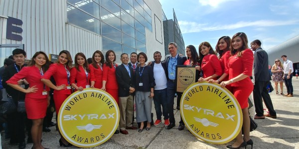 Air Asia Team at the International Paris AirShow