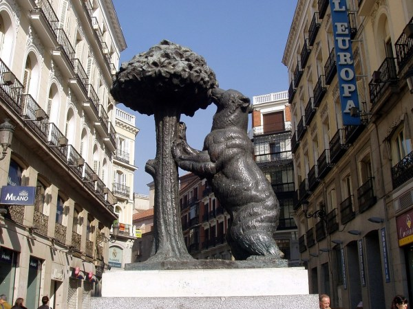 Bear And Arbutus in Madrid