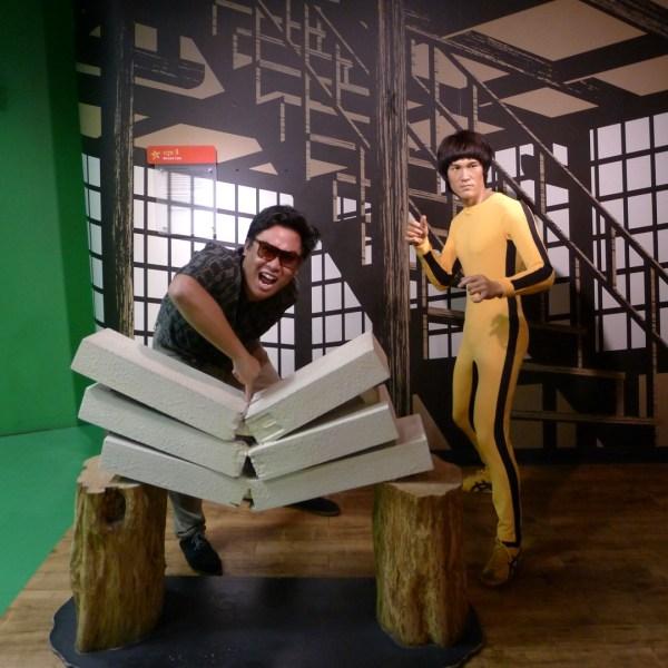 Bruce Lee at Madame Tussaud's Bangkok
