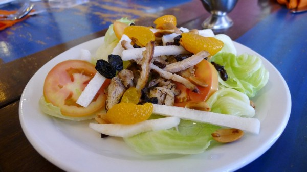 Grilled Chicken Salad at Mooon Cafe Cebu