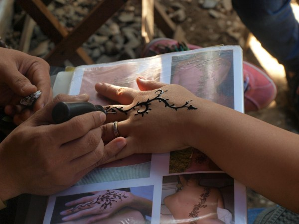 Henna Tattoo in Boracay