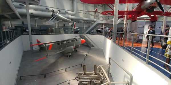 Inside Air and Space Museum in Paris