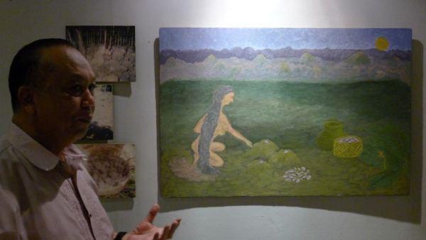 Legend of the Ubi at Bohol National Museum