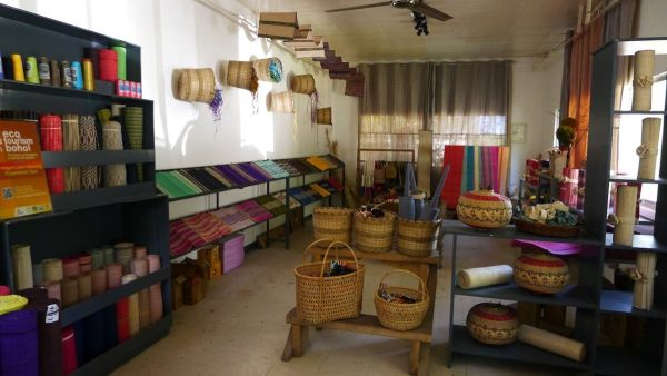 Loomweaving Products in Bohol