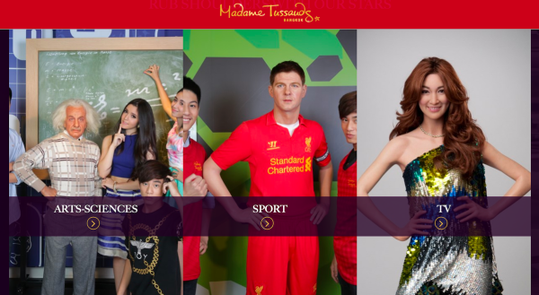 Madame Tussaud's Wax Museum Experience in Bangkok