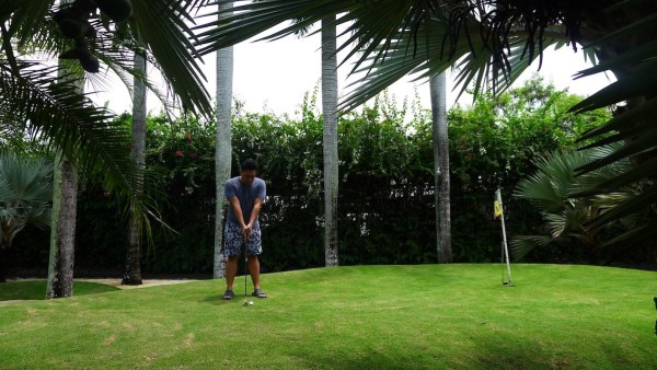 Pitch and Putt at Plantation Bay