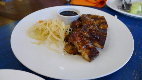 Pork Belly at Mooon Cafe Cebu