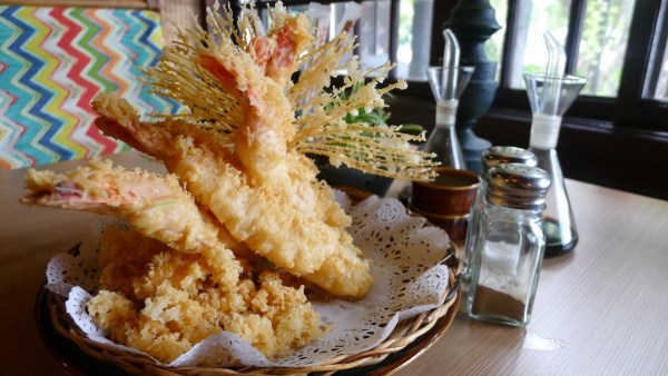 Prawn Tempura at Fiji