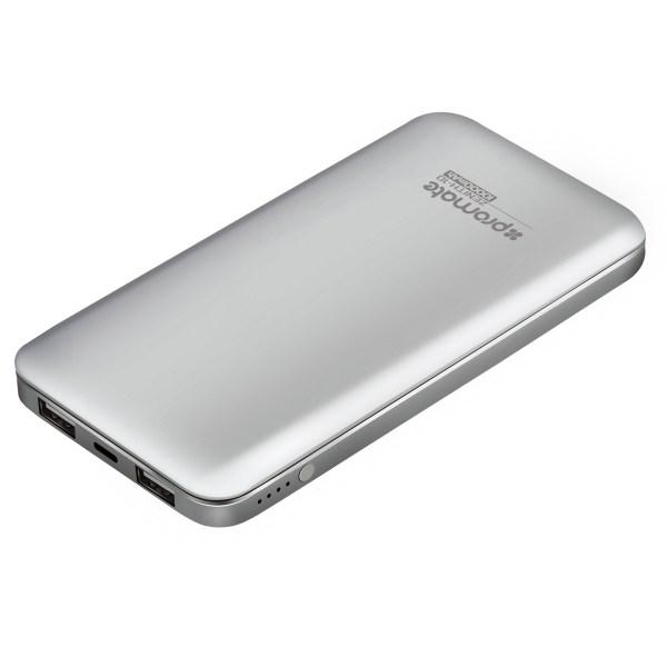 Promate Zenith-10 Silver Power Bank