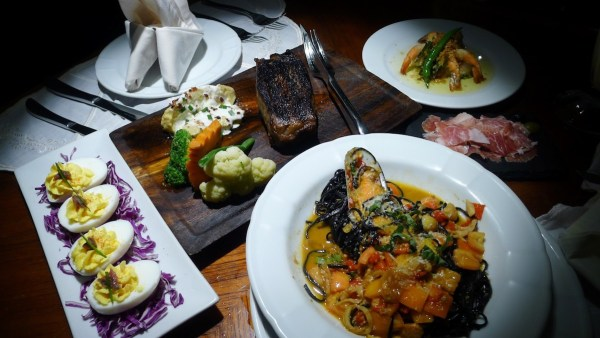 Tapas, Pastas and Steaks at Palermo