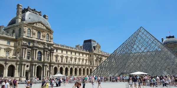 The Famous Glass Pyramid
