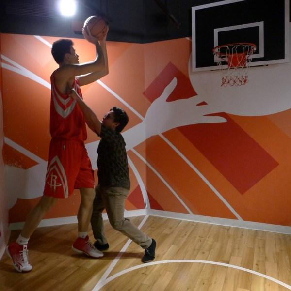 Yao Ming at Madame Tussaud's Bangkok