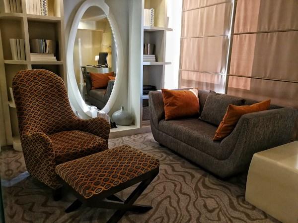 Aquino Suite Living Room
