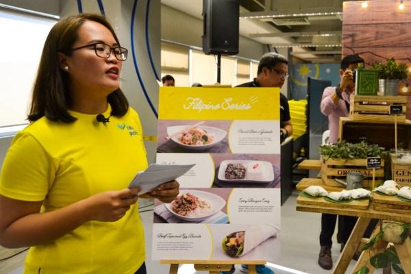 Cebu Pacific new in-flight menu