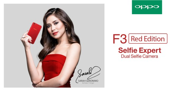 OPPO F3 Red Stores in Philippines