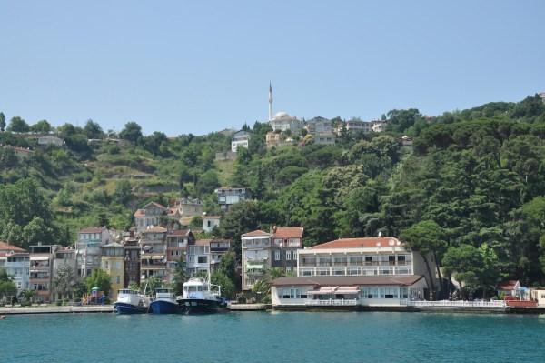 Sariyer town in Istanbul Turkey