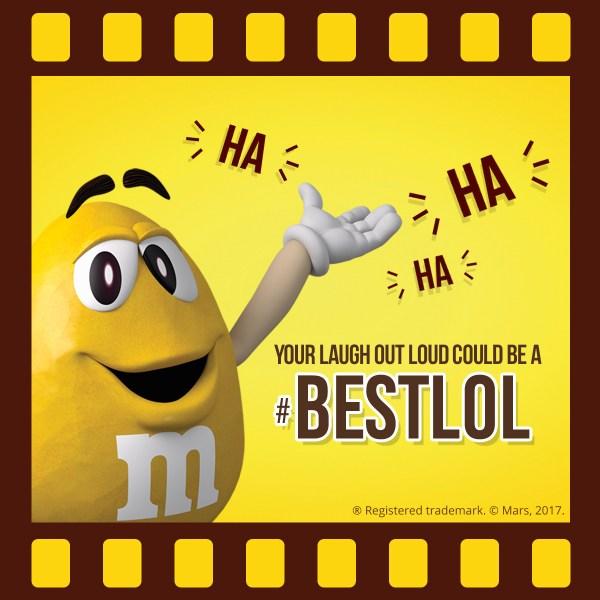 M&M'S Screenbite Awards Best LOL