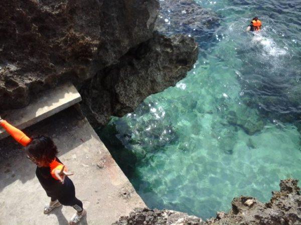 Snorkeling at Crystal Cove