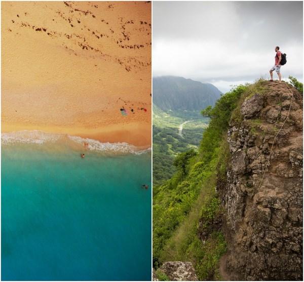 Sunbathing or Mountain Climbing