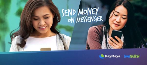 Send Money on Facebook Messenger using PayMaya Payment Services