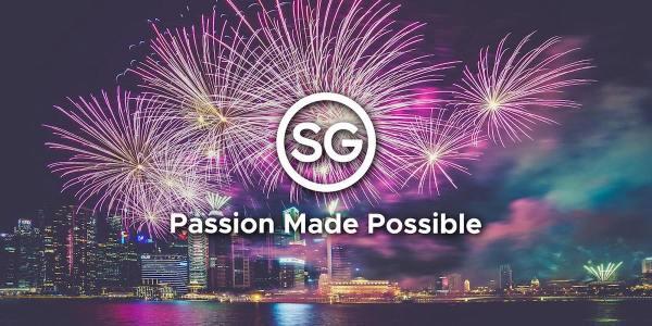 Singapore Travel Showcase Fireworks