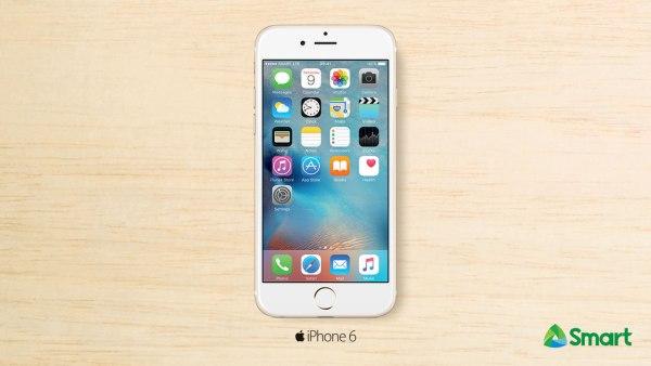 iPhone6 Twitter on Smart Postpaid Plan 999