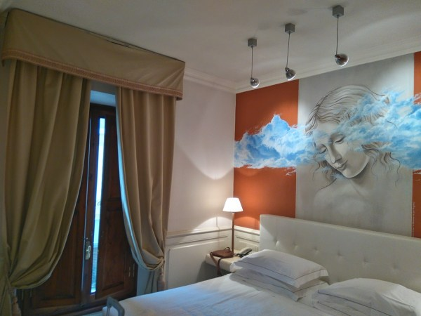 Inside AirBnb Room