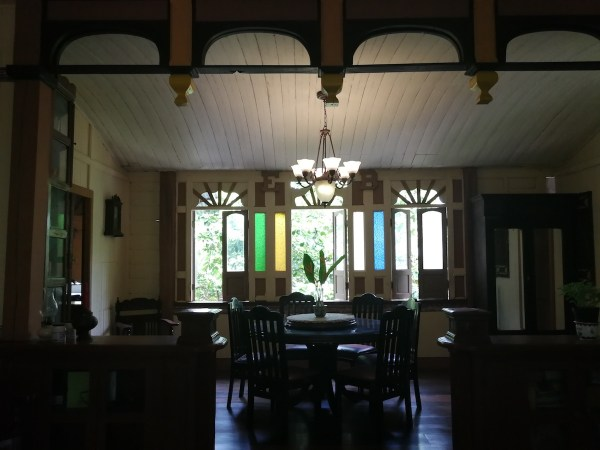 Inside Balili House