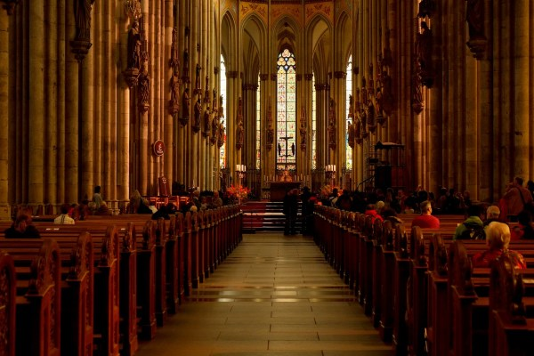 Inside Cologne Cathedral