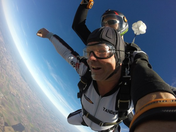 Is skydiving on your bucket list?