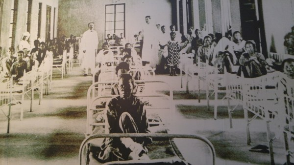 Old photo of Culion Leper Colony