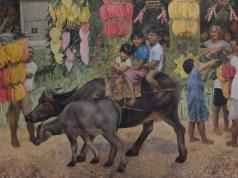 Pahiyas Painting at Blanco Family Museum