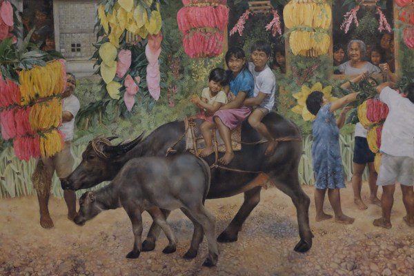 Pahiyas Painting at Blanco Family Museum