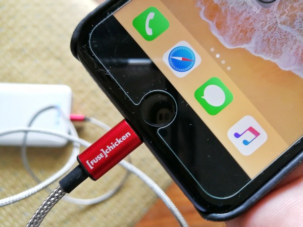 Red Armour Durable iPhone Cable