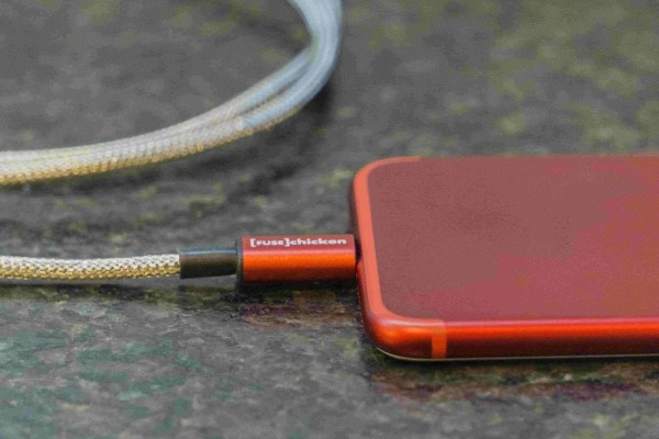Red Armour Fuse Chicken iPhone Cable