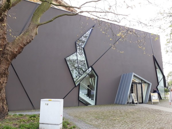 Entrance of the Felix Nussbaum Haus