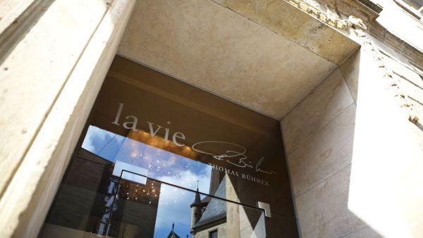 The three-star Michelin restaurant La Vie by renowned chef Thomas Bühner