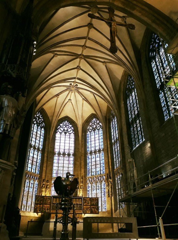 The interior of the Sankt Reinoldikirche