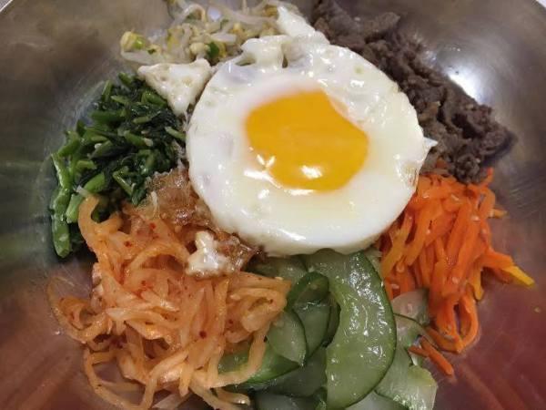 Bibimbap at Korea Garden Restaurant