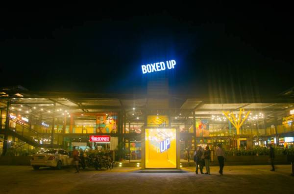 Boxed Up Food Park in Davao City