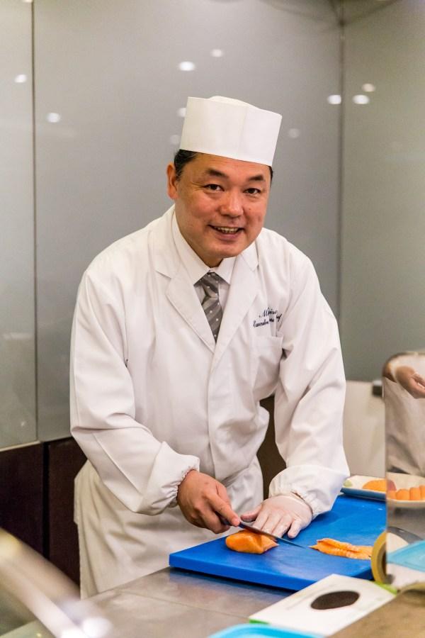 Chef Hiro of Kitsho