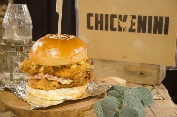 Chickenini Chicken Burger