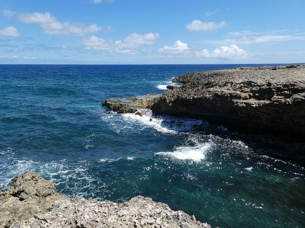Inviting waters of Curacao